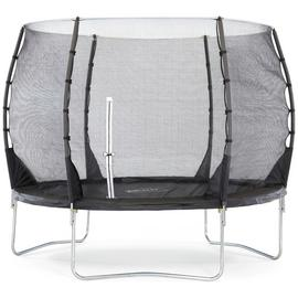 Plum 10ft Magnitude Springsafe Trampoline with Enclosure