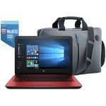 more details on HP 14 Inch Intel Celeron 4GB 1TB Laptop Red - Bag & McAfee.