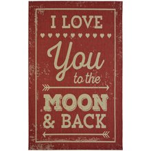 County Moon Rug - 120x170cm - Red