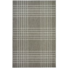 County Check Rug - 160x230cm - Taupe