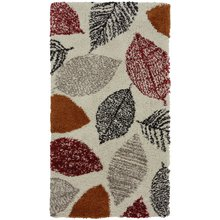 Noble Autumn Leaf Rug - 60x110cm - Multicoloured