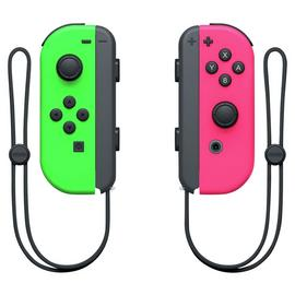 Nintendo Switch Joy-Con Controller Pair - Neon Green / Pink