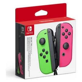 Nintendo Switch Joy-Con Controller Pair - Neon Green & Pink