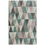 more details on Noble Triangles Rug - 120x170cm - Multicoloured.