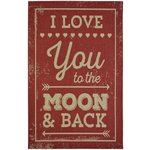 County Moon Rug - 160x230cm - Red