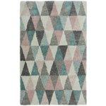 Noble Triangles Rug - 80x150cm - Multicoloured