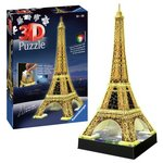 more details on Ravensburger 3D Light Up Eiffel Tower Jigsaw.