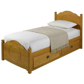 Argos Home Sherington Single 2 Drawer Bed Frame - Pine