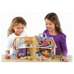 more details on Playmobil Take Along Dolls House - 5167.