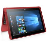 more details on HP X2 10.1 Inch Intel Atom 2GB 32GB SSD 2-in-1 Laptop - Red.
