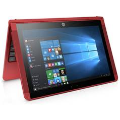 HP X2 10.1 Inch Intel Atom 2GB 32GB SSD 2 in 1 Laptop - Red