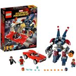 more details on LEGO Super Heroes Detroit Steel Strikes - 76077.