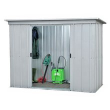 yardmaster metal garden shed 6 x 4ft