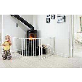 BabyDan Configure Large Gate - White