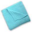 more details on Silver Cloud Cotton Blanket - Turquoise.