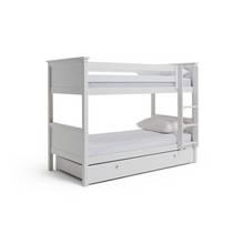 Buy Argos Home Detachable Sgl Bunk Bed Frame W Trundle White