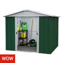 Yardmaster Metal Shed - 8 x 6ft
