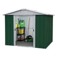 Yardmaster Metal Shed - 8 x 6ft Best Price, Cheapest Prices