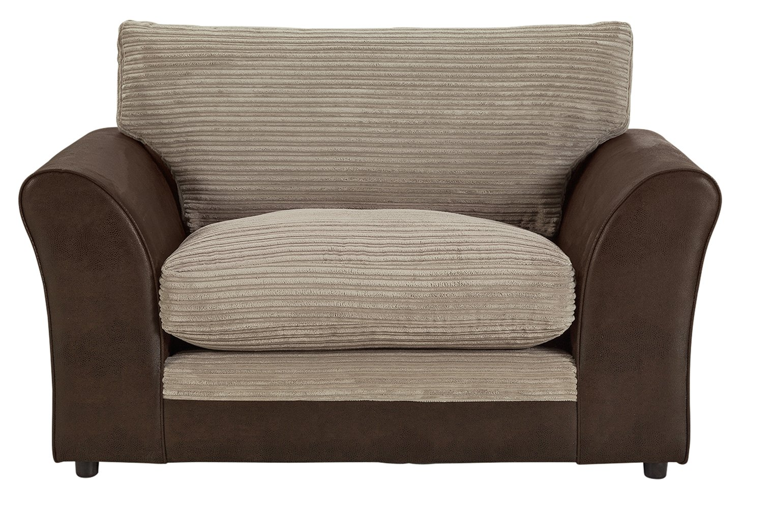 Argos Home Harley Fabric Cuddle Chair   Mink