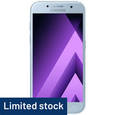 SIM Free Samsung A3 2017 16GB Mobile Phone - Blue Mist