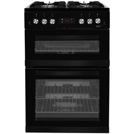 Beko KDG653K 60cm Double Oven Gas Cooker - Black