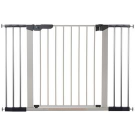BabyDan Premier Extra Wide Safety Gate - Silver.