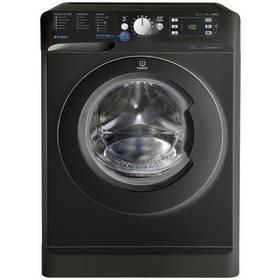 Indesit BWE91484X 9KG 1400 Spin Washing Machine - Black