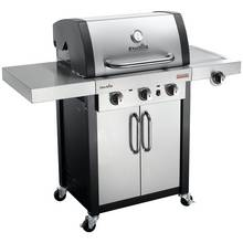 Char-Broil PRO 3400 S - 3 Burner Gas BBQ with Side-Burner