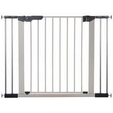 BabyDan Premier Wide Safety Gate - Silver.
