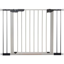 BabyDan Premier Wide Safety Gate - Silver.