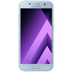 SIM Free Samsung Galaxy A5 2017 32GB Mobile Phone- Blue Mist