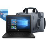 more details on HP 14 Inch Intel Celeron 4GB 1TB Laptop Black - Bag & McAfee