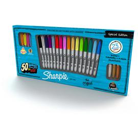 Sharpie 23 Pack of Fine Permanent Markers.