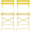 more details on Habitat Pair of Parc Yellow Folding Chairs.