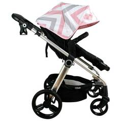 My Babiie MB150 Pink Chevron Pushchair