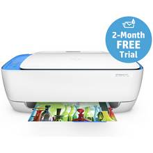HP DeskJet 3637 All-in-One Wi-Fi Printer - Instant Ink