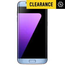 Sim Free Samsung S7 Edge Mobile Phone - Coral Blue