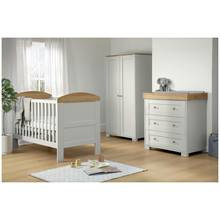 Mamas & Papas Harrow 3 Piece Furniture Set - Grey