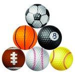 more details on Longridge Pack of 6 Sports Golf Balls.