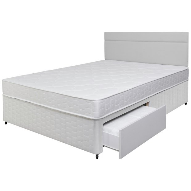 Buy Airsprung Royston Memory Foam 2 Drawer Divan Double At Your Online Shop For