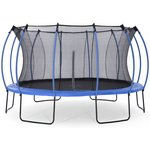 more details on Colours By Plum 14ft Trampoline - Blue/ Lime.