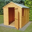 more details on Homewood Durham Shiplap Wooden Shed 8 x 6ft.
