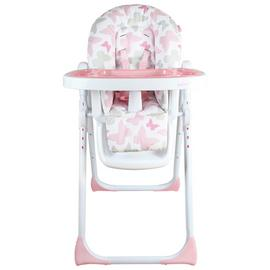 My Babiie Katie Piper MBHC8BU Pink Butterfly Highchair.