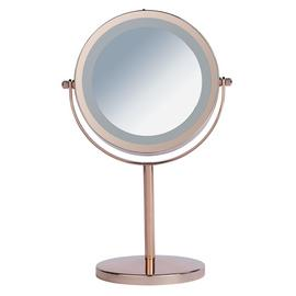 Danielle Creations Rose Gold Finish Light Up Mirror