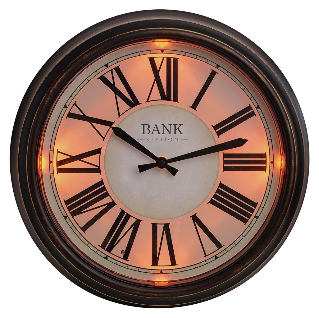 Buy Gardman Bank Station LED Clock At Argos.co.uk   Your Online Shop For Garden  Clocks, Garden Ornaments And Accessories, Garden Decoration And  Landscaping, ...
