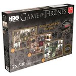 more details on Game of Thrones 3x500 Piece Collectors Box Puzzle - Vol 2.
