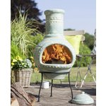 more details on La Hacienda Lumbre Clay Chimenea.