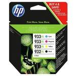 more details on HP 9332XL/933XL Black/Tri Colour Ink Cartridge Pack.