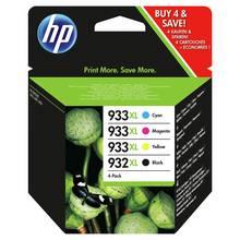 HP 932 / 933 XL Original Ink Cartridges - Black & Colour