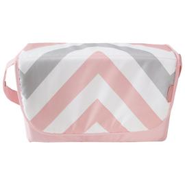 My Babiie Pink Chevron Baby Changing Bag.